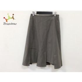 ホコモモラ JOCOMOMOLA スカート サイズ40 XL レディース 美品 ダークグレー   スペシャル特価 20190908