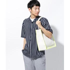 THE SHOP TK(Men)(ザ ショップ ティーケー(メンズ)) ◆キャンバスカラーパイピングトートバッグ