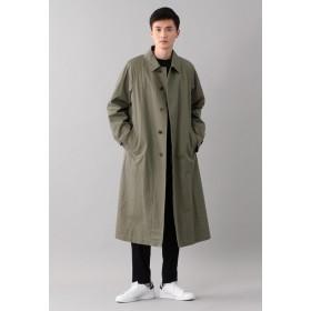 SANYO COAT <BLUEFLAG>コットンギャバジンテントラインコート ステンカラーコート,カーキ