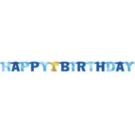 ラージレターバナー1stバースデーボーイ 1歳 誕生日 ベビー 演出アイテム 装飾 お祝い 男の子