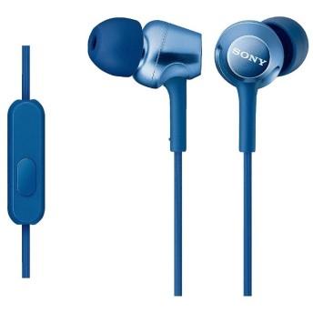 イヤホン カナル型 ブルー MDR-EX250AP [リモコン・マイク対応 /φ3.5mm ミニプラグ]