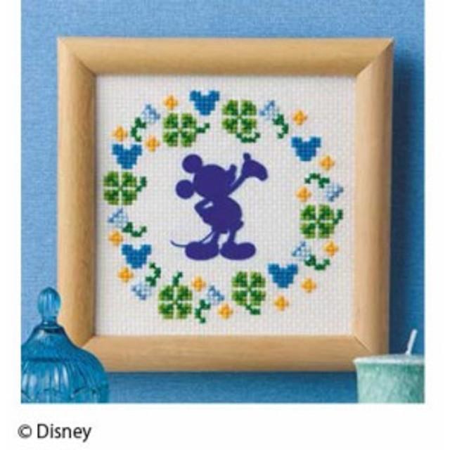 ディズニー ミッキーマウスミニフレーム 刺しゅうキット 11