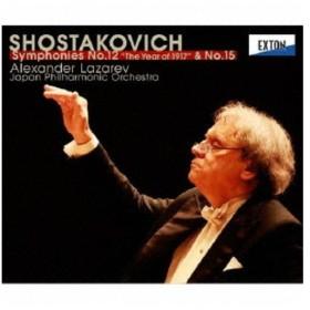 ラザレフ 日本フィル/ショスタコーヴィチ:交響曲 第12番「1917年」 第15番 【CD】