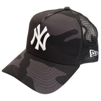 ニューエラ(NEW ERA) 9FORTY A-Frame トラッカー ニューヨーク・ヤンキース ウッドランドカモ 11899212 (Men's)