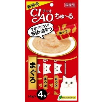 いなば チャオ ちゅ〜る まぐろ 14g×4本 CIAO ちゅーる 猫 おやつ