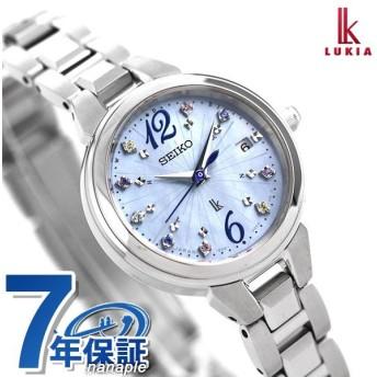 セイコー ルキア サマー 流通限定モデル 電波ソーラー レディース 腕時計 SSVW157 SEIKO LUKIA ブルーシェル 青
