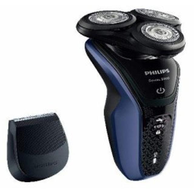 フィリップス 電気シェーバー (ブラック/ブルー)PHILIPS 5000シリーズ ウェット&ドライ S52