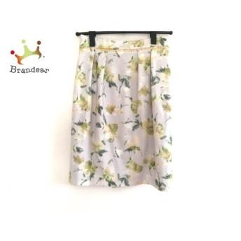 アプワイザーリッシェ Apuweiser-riche スカート サイズ2 M レディース 美品 花柄 スペシャル特価 20190911