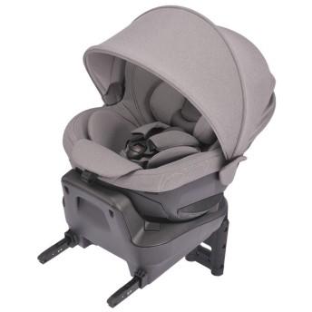[ISOFIX取付]エールベベ クルット4iプレミアム2 ナチュラルグレー チャイルドシート ベビーカー・カーシート・だっこひも カーシート・カー用品 チャイルドシート(新生児~) (41)