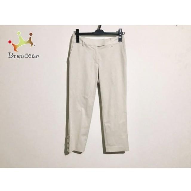 ジユウク 自由区/jiyuku パンツ サイズ36 S レディース 美品 ベージュ 新着 20191103