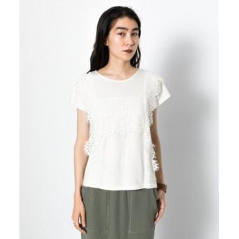 SENSE OF PLACE(センスオブプレイス) トップス Tシャツ・カットソー レーストップス(半袖)