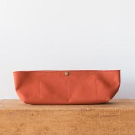【受注製作・翌月末発送】BARCHETTA用インナーバッグ〈 Orange 〉