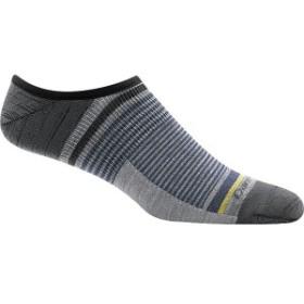 ダーンタフ メンズ 靴下 アンダーウェア Topless Stripe No Show Light Sock - Men's Gray