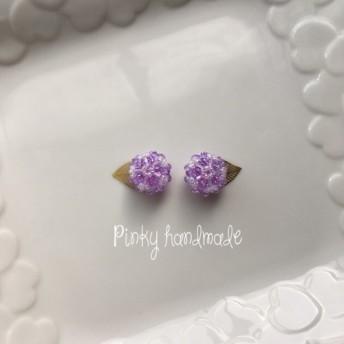 紫陽花イヤリング/ピアス