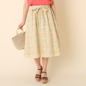 [マルイ]【セール】【WEB限定サイズ(S・LL)あり】【洗える】プチフラワーベルテッドスカート/クチュールブローチ(Couture Brooch)