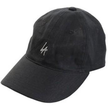 新規会員登録で3,000円OFF!【Super Sports XEBIO & mall店:帽子】リネン刺繍キャップ LA 897PA9ST1698 BLK