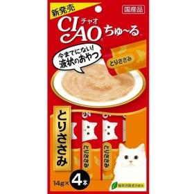 いなば チャオ ちゅ〜る とりささみ 14g×4本 CIAO ちゅーる 猫 おやつ 4901133716591(tc)
