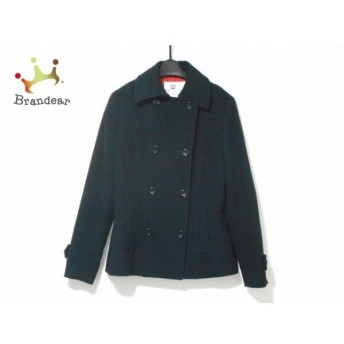 ブラーミン BRAHMIN Pコート サイズ42 L レディース 黒 冬物 新着 20190530