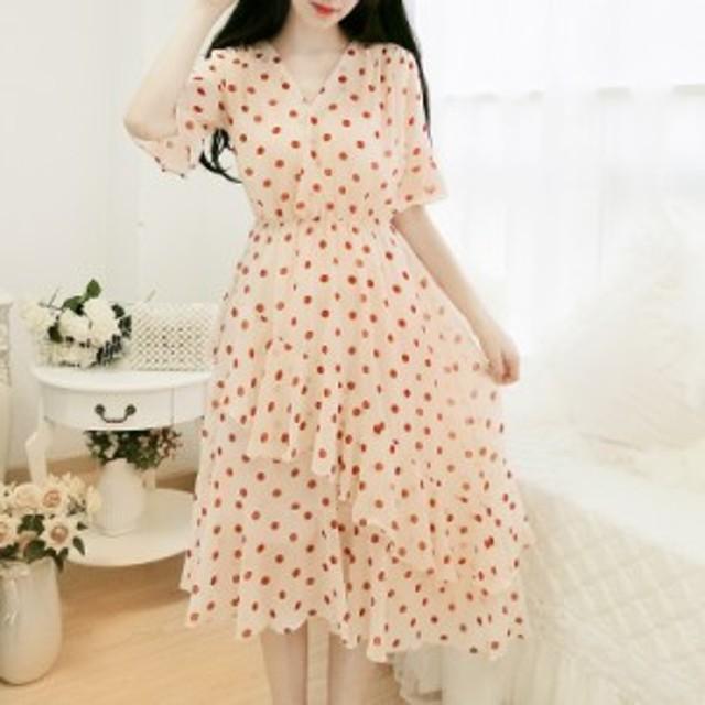 夏の新しいスタイルは非常に人気のあるフレンチニッチドレスの女性のスーパー妖精の長い段落の襟の波のドレススカートのドレスです