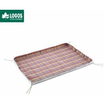 LOGOS ロゴス レジャーシート テントマット 土禁スペース砂よけマット 180×125cm