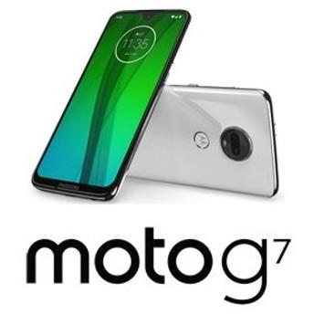 Motorola(モトローラ) moto g7 クリアホワイト [6.24インチ / メモリ 4GB / ストレージ 64GB] PADY0001JP 返品種別B
