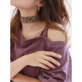 [Ungrid]シフォンモチーフスカーフ