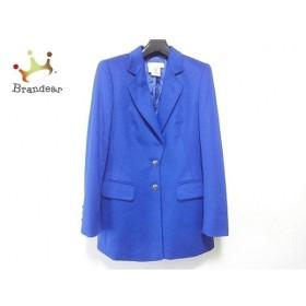 エスカーダ ESCADA ジャケット サイズ36 M レディース 美品 ブルー 肩パッド/MARGARETHA LEY  値下げ 20190829