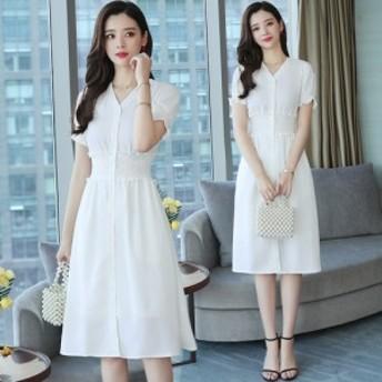 膝の上の夏の新しいフランスのレトロスカートは非常に妖精フランスの小さな白い妖精のスカートのドレスのスカートです