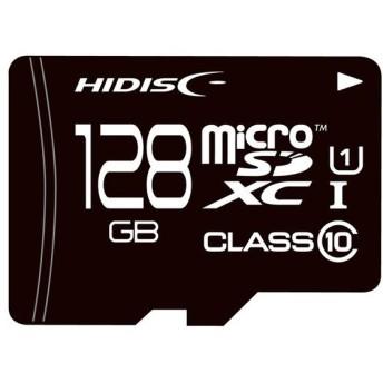 HI-DISC microSDXCカード HDMCSDX128GCL10UIJP-WOA 128GB