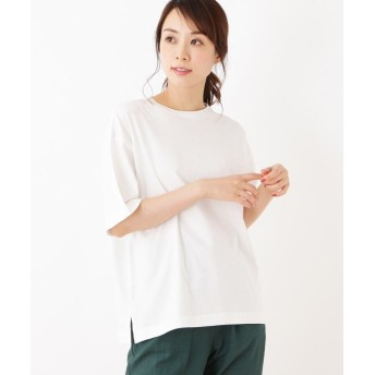 OPAQUE.CLIP(オペークドットクリップ) 【42(LL)WEB限定サイズ】スーピマコットンラフTシャツ