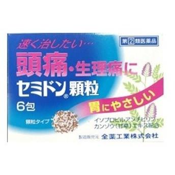 「全薬工業」 セミドン顆粒 6包 「第(2)類医薬品」