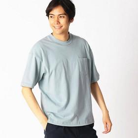 <COMME CA ISM (メンズ)> 日本の伝統色 ポケット付 Tシャツ(4760TL25) グレー 【三越・伊勢丹/公式】