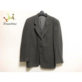 ジョルジオアルマーニ GIORGIOARMANI ジャケット サイズ48REG メンズ 美品 黒×ベージュ   スペシャル特価 20190819
