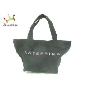 アンテプリマミスト ANTEPRIMA MISTO トートバッグ 黒 ラインストーン キャンバス   スペシャル特価 20190903