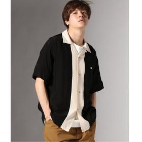 [マルイ] メンズシャツ(STYLE EYES / スタイルアイズ : SWITCHED PATTERN オープンカラーシャツ)/ジャーナルスタンダード(メンズ)(JOURNAL STANDARD MEN'S)