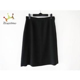 アニエスベー agnes b スカート サイズ40 M レディース 黒   スペシャル特価 20190905
