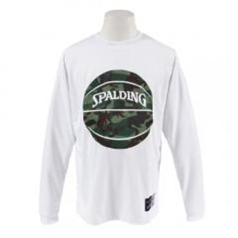 SPALDING スポルディング カモフラージュ柄 ロングスリーブTシャツ SMT183090
