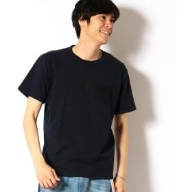 [マルイ] エンボスロゴ Tシャツ/パープル&イエロー(Purple & Yellow)