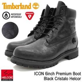 ティンバーランド Timberland ブーツ メンズ 男性用 アイコン 6インチ プレミアム Black Cristalo Helcor(A1JD9 ICON 6inch Premium Boot)