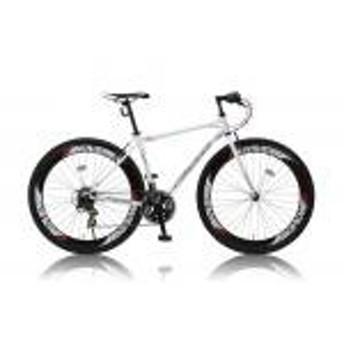 【新品/取寄品/代引不可】CANOVER CAC-025 NYMPH ホワイト (25599) クロスバイク 700C 21段変