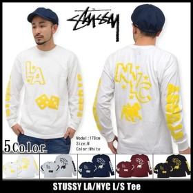ステューシー STUSSY LA/NYC Tシャツ 長袖(stussy tee ティーシャツ T-SHIRTS トップス ロンt メンズ・男性用 1993464)