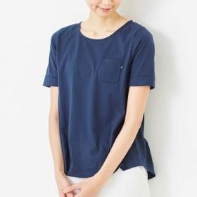 一枚で主役級! こだわりの立体設計 汗じみ対策Tシャツの会 フラウグラット フェリシモ FELISSIMO【送料:450円+税】