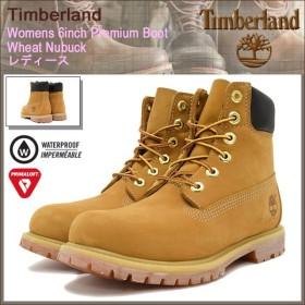ティンバーランド ブーツ 日本正規品 Timberland ウィメンズ 6インチ プレミアム ウィート ヌバック(10361 Womens 6inch Premium Boot)