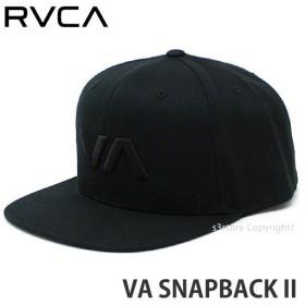 ルーカ スナップバック 2 RVCA VA SNAPBACK II スケートボード サーフィン SKATE SURF 耳当て付 帽子 サイズ調節可 コーディネート Col:BBK