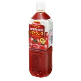 キッコーマン デルモンテ 食塩無添加トマトジュース 900g ペットボトル【入数:12】