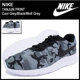 ナイキ NIKE スニーカー メンズ 男性用 タンジュン プリント Cool Grey/Black/Wolf Grey(nike TANJUN PRINT 819893-001)