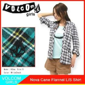 ボルコム VOLCOM ガールズ ノバ ケーン フランネル シャツ 長袖(VOLCOM GIRLS Nova Cane Flannel L/S Shirt シャツ ウーマンズ B0511203)