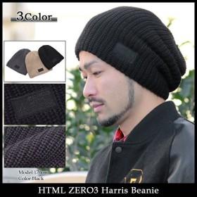 エイチティエムエル ゼロスリー HTML ZERO3 ニット帽 ハリス ビーニー(html zero3 Harris Beanie 帽子 ニットキャップ)