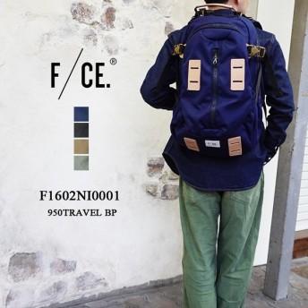F/CE. 950 TRAVEL BP F1602NI0001 エフシーイー 950デニール トラベルバックパック リュック メンズ レディース 〔SK〕