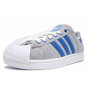 adidas(アディダス) SUPER STAR II Grey/Blue/Blue adidas grun